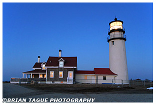 Cape Cod (Highland) Light Sunset