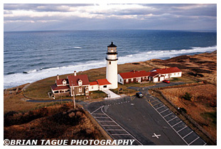 Cape Cod (Highland) Light Aerial