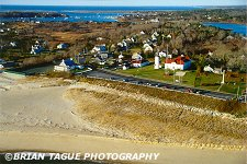 Chatham Light Aerial