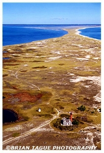 Monomoy Point Light Aerial