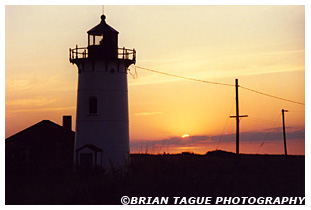 RACE POINT LIGHT Sunset